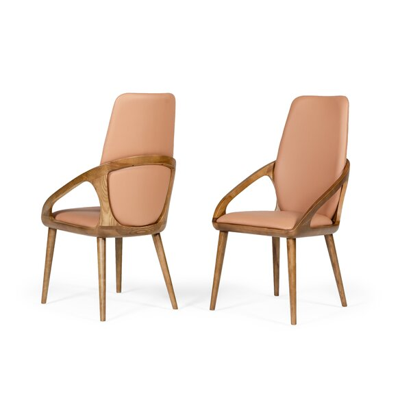 Roepke Upholstered Dining Side Chair (Set of 2) by Union Rustic Union Rustic