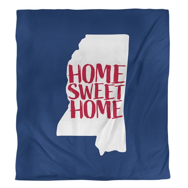 Mississippi Home Sweet Single Duvet Cover