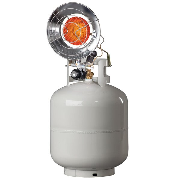15,000 BTU Propane Standing Patio Heater by Mr. Heater