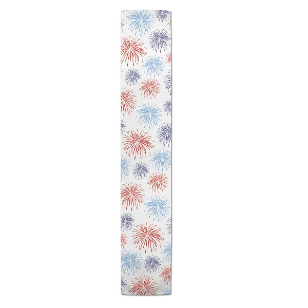 Marciano Fireworks Table Runner by The Holiday Aisle
