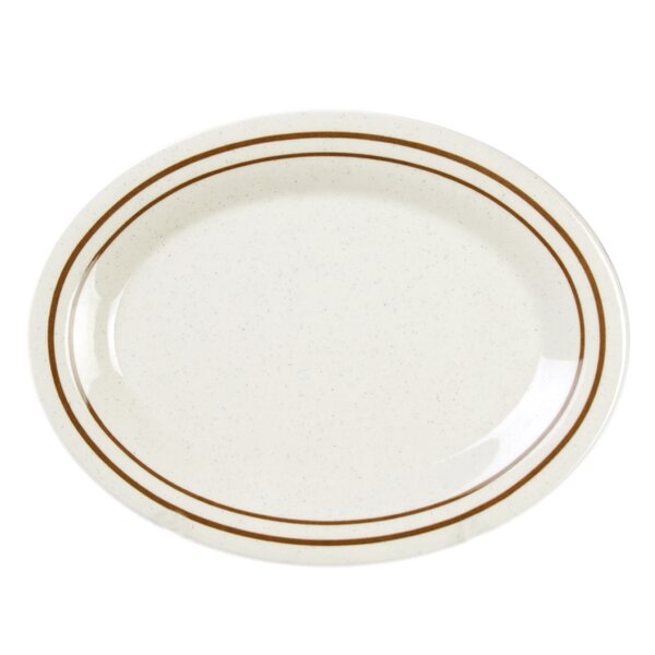 Colbin Oval Platter (Set of 12) by Red Barrel Studio