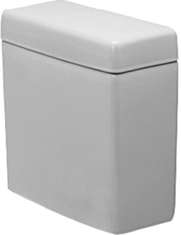 Happy D. 1.28 GPF (Water Efficient) Toilet Tank (Seat Not Included) by Duravit