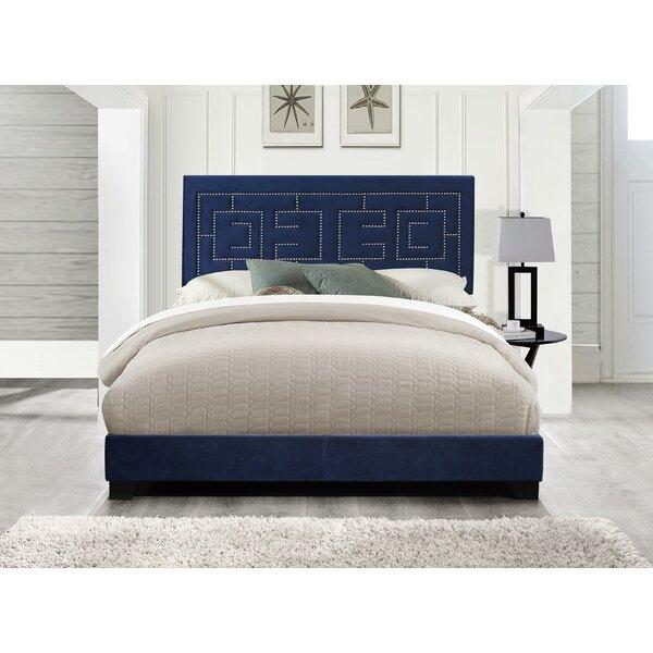 Harrold Fabric Queen Upholstered Standard Bed by Mercer41