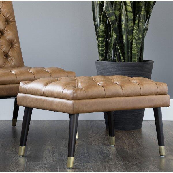 Brayden Studio Leather Ottomans
