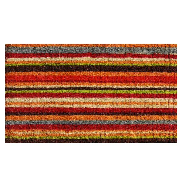 Lockmoor Stripe Doormat by Andover Mills