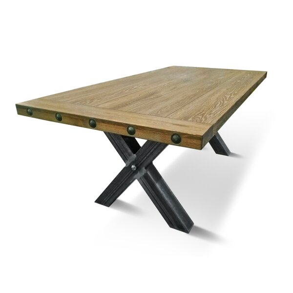 Percy Solid Wood Dining Table by Loon Peak