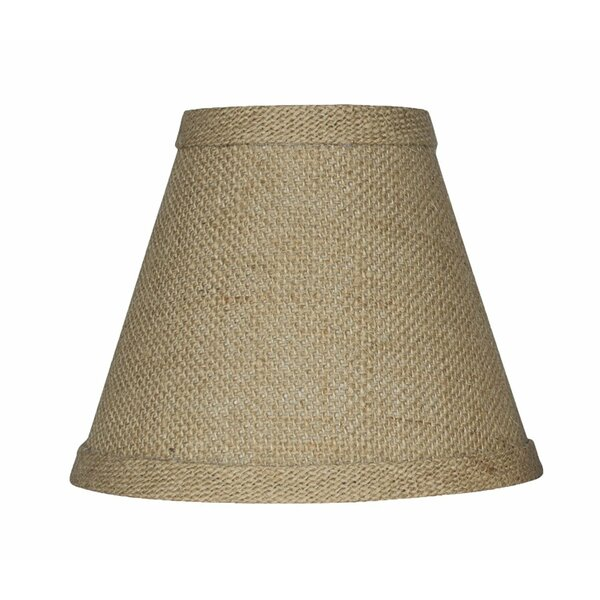 6 Burlap Empire Candelabra Shade by Bay Isle Home