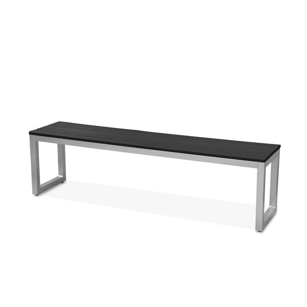 Alissa Aluminium Picnic Bench by 17 Stories 17 Stories