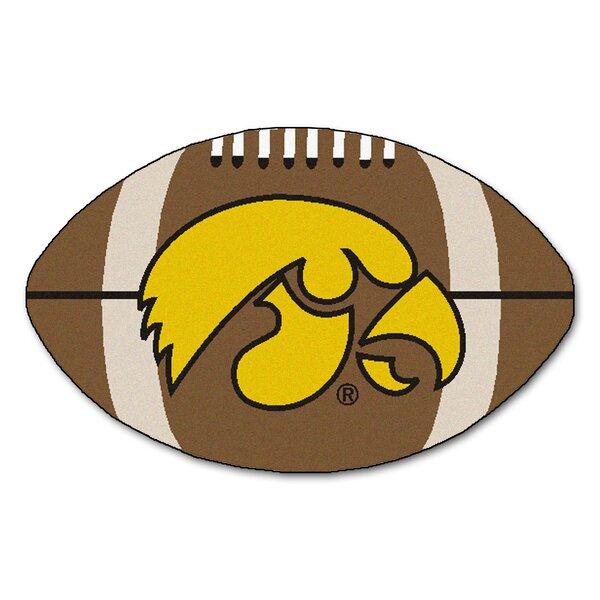 NCAA University of Iowa Football Doormat by FANMATS