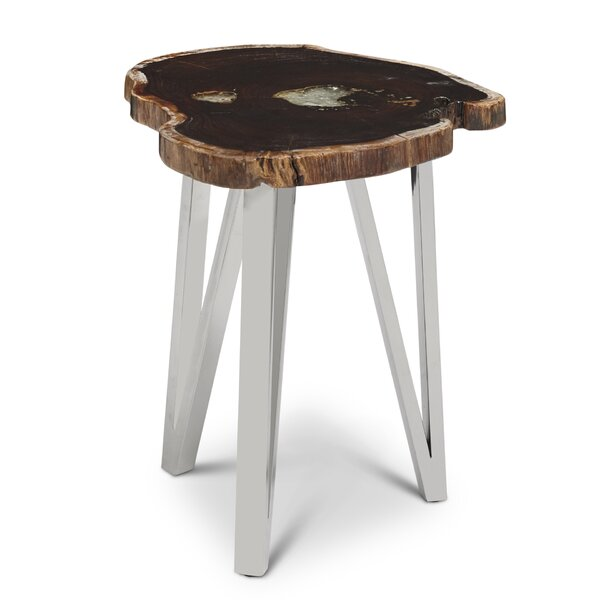 Arpin Rosewood Side Table by Union Rustic