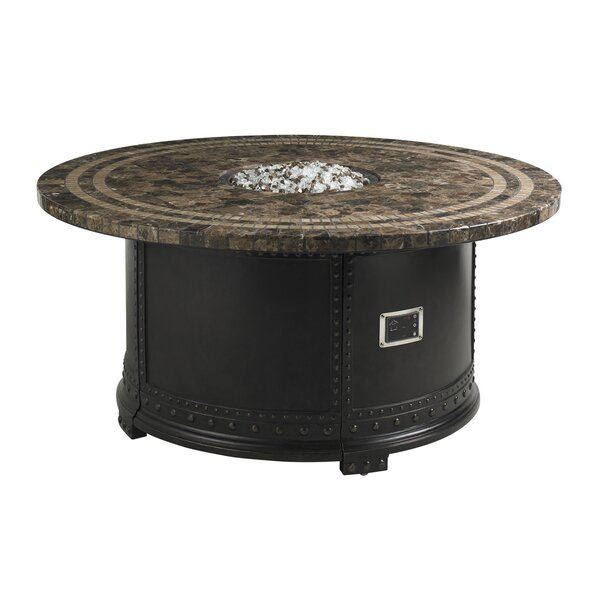 Kingstown Sedona Stone Fire Pit Table by Tommy Bahama Outdoor