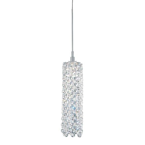 Refrax 1-Light Crystal Pendant by Schonbek