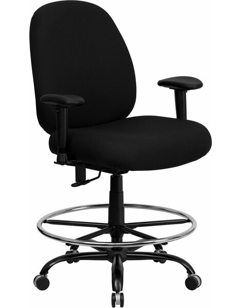 Krull Drafting Chair by Symple Stuff