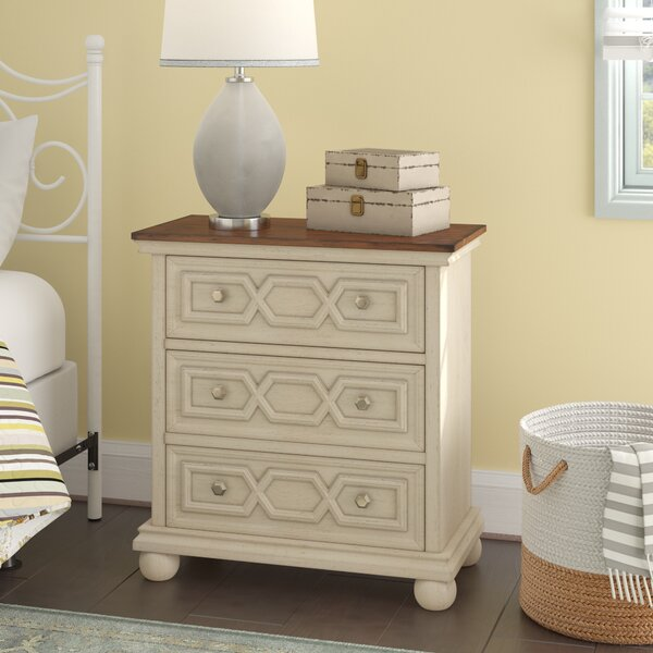 Watertown 3 Drawer Nightstand by Alcott Hill