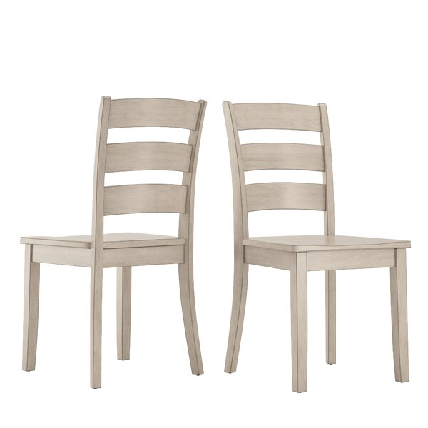 Alverson Solid Wood Dining Chair (Set Of 2) By August Grove August Grove