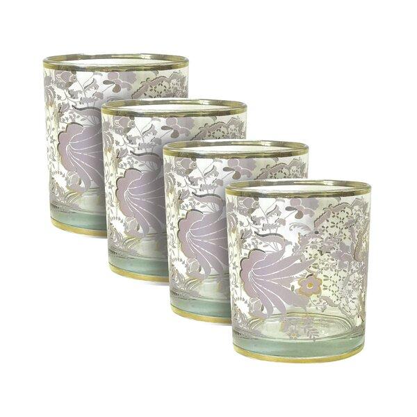 Tapestry Rocks 15 oz. Cocktail Glass (Set of 4) by Patina Vie