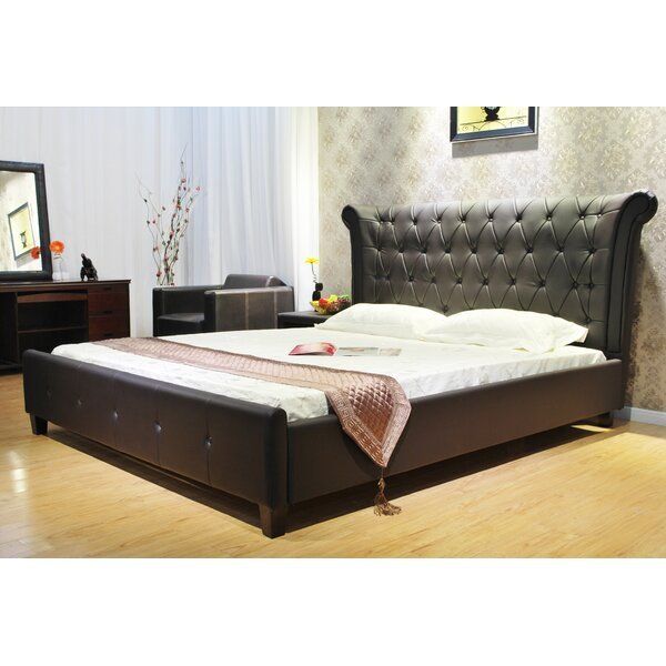 Upholstered Standard Bed by Greatime