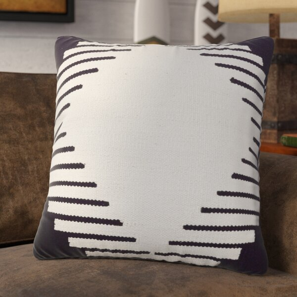 Conley Square Cotton Throw Pillow by Union Rustic