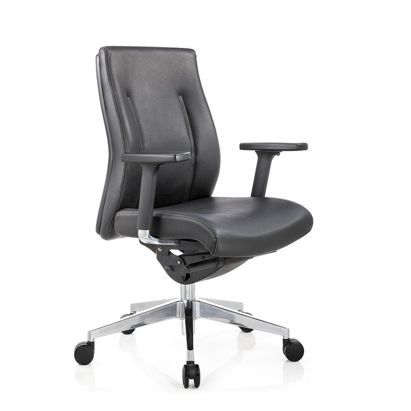 Toomey Conference Mid Back Multi-Function Ergonomic Office Chair by Latitude Run
