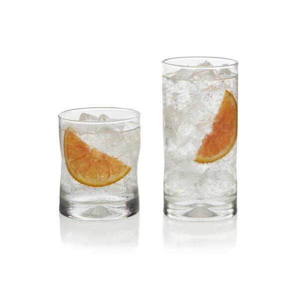 Impressions 16 Piece Glass Assorted Glassware Set by Libbey