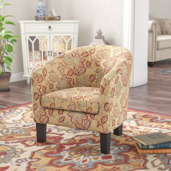 Brookhill Barrel Arm Chair by Charlton Home
