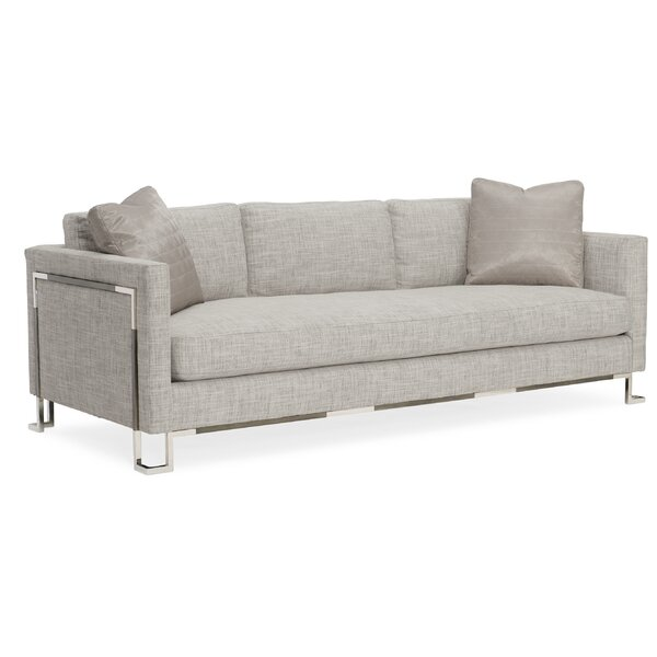 Open Framework Sofa by Caracole Classic