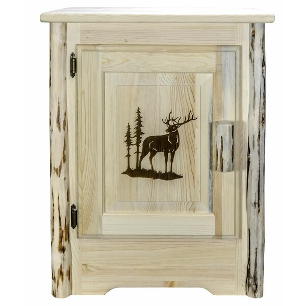Shreve 1 Door Accent Cabinet By Millwood Pines