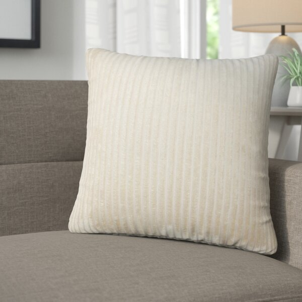 Galilea Solid Throw Pillow (Set of 2) by Corrigan Studio