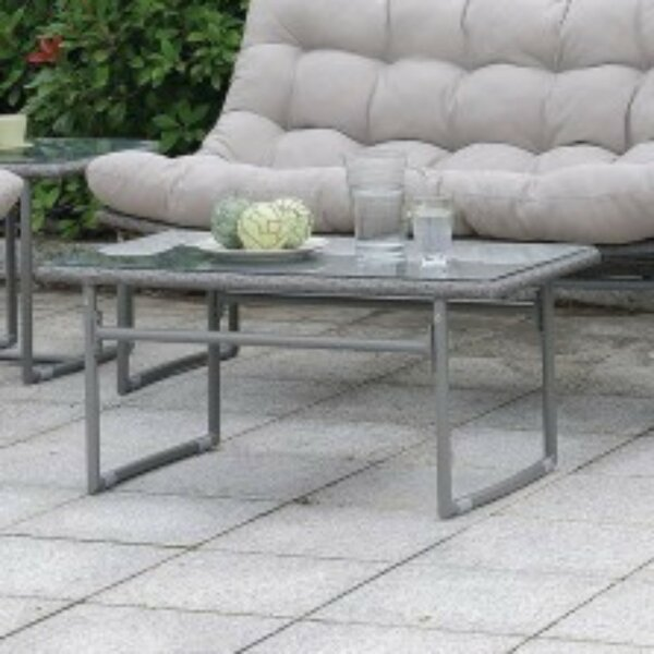 Ashmore Wicker/Rattan Coffee Table by Ivy Bronx