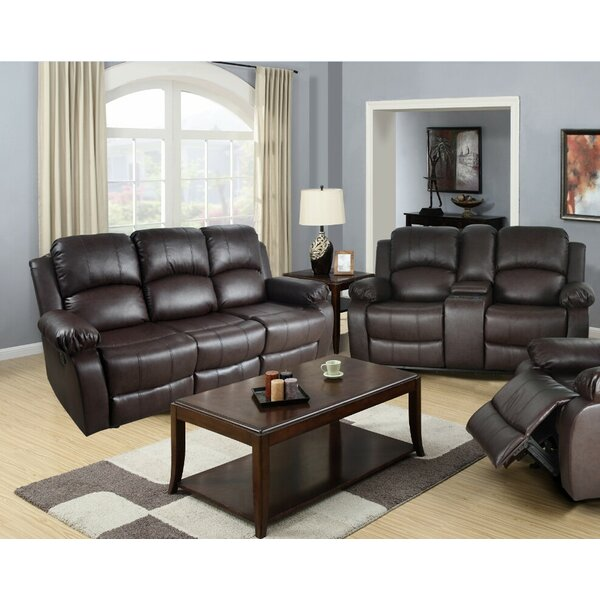 Harton Reclining 2 Piece Living Room Set