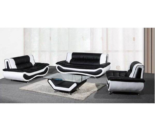 Chiang 3 Piece Living Room Set by Orren Ellis