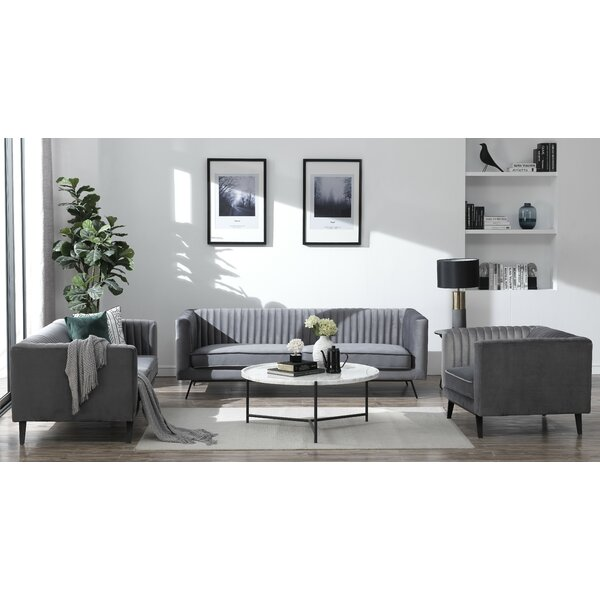 Yorkshire 3 Piece Living Room Set By Everly Quinn Fresh on| Kitchen ...