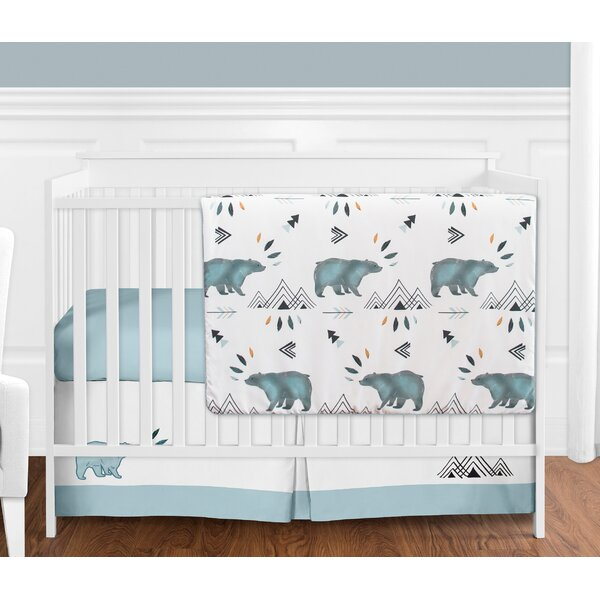 Bear Mountain 4 Piece Crib Bedding Set by Sweet Jojo Designs