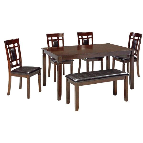 Manzanita 6 Piece Dining Set by Canora Grey