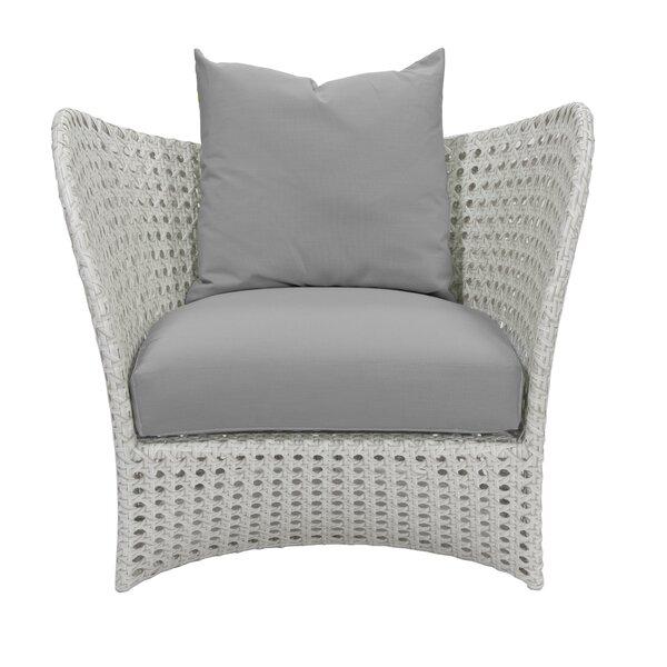 South Beach Patio Chair with Sunbrella Cushions by David Francis Furniture