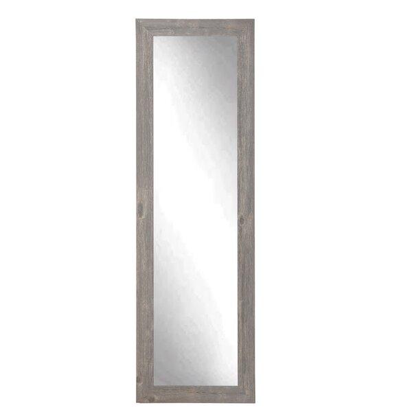 Lauralee Barnwood Slim Full Length Mirror by Gracie Oaks
