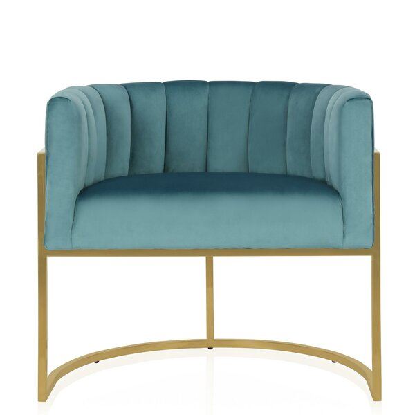 Rooney Barrel Chair by CosmoLiving by Cosmopolitan CosmoLiving by Cosmopolitan