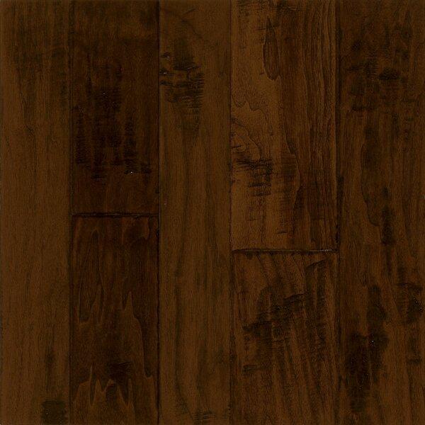 Artesian Random Width Engineered Walnut Hardwood Flooring in Black Chocolate by Armstrong Flooring