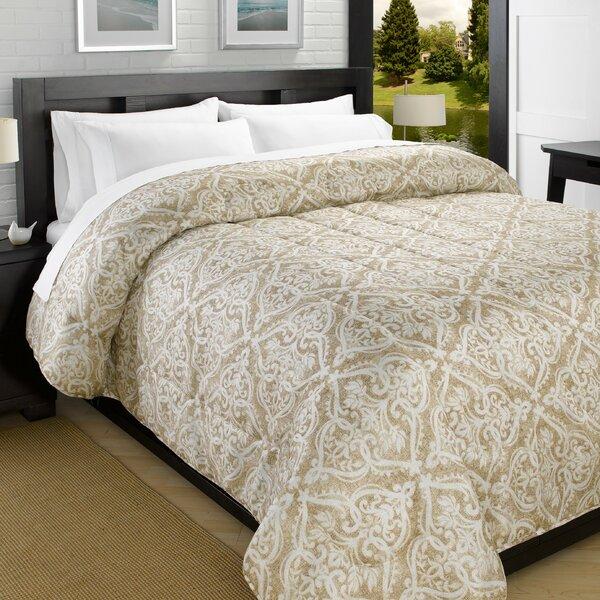 Printed Lightweight Down Alternative Comforter by Red Barrel Studio