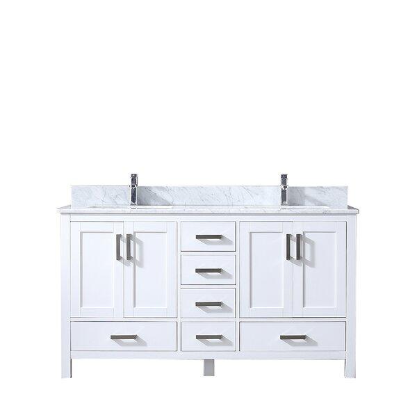 Michaella 60 Double Bathroom Vanity Set