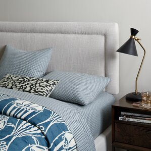Robins Upholstered Panel Headboard by Brayden Studio