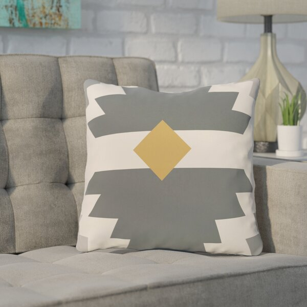 Cleon Outdoor Throw Pillow by Mercury Row