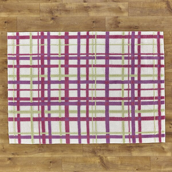 Mad for Plaid Pink Rug by Birch Lane Kids™