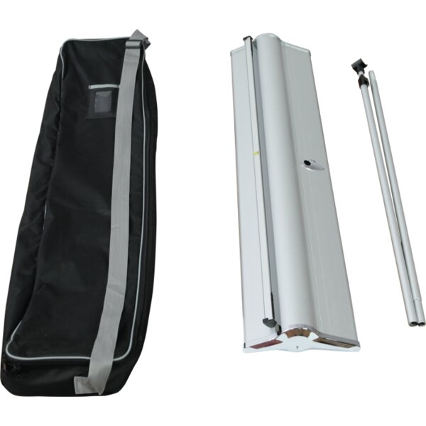 Blade Lite Retractable Banner Stand by Exhibitor's Hand Book