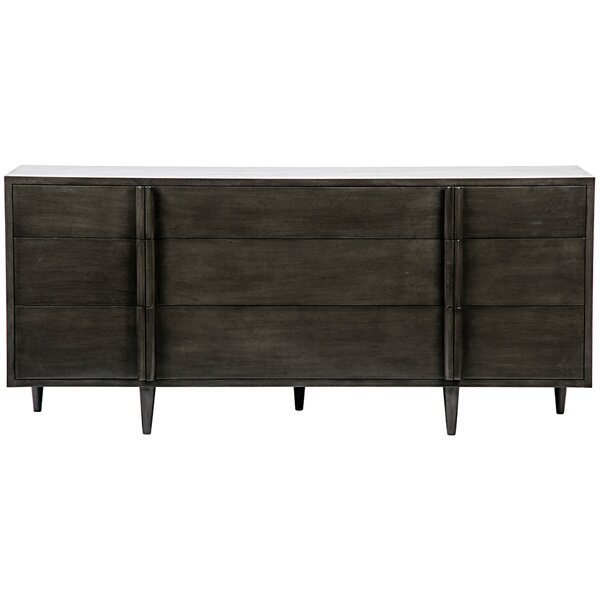 Morten 9 Drawer Dresser by Noir