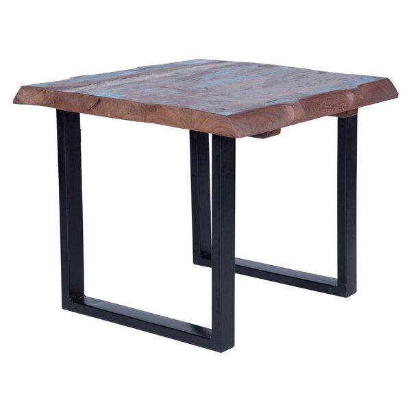 Trower Rustic End Table by Millwood Pines