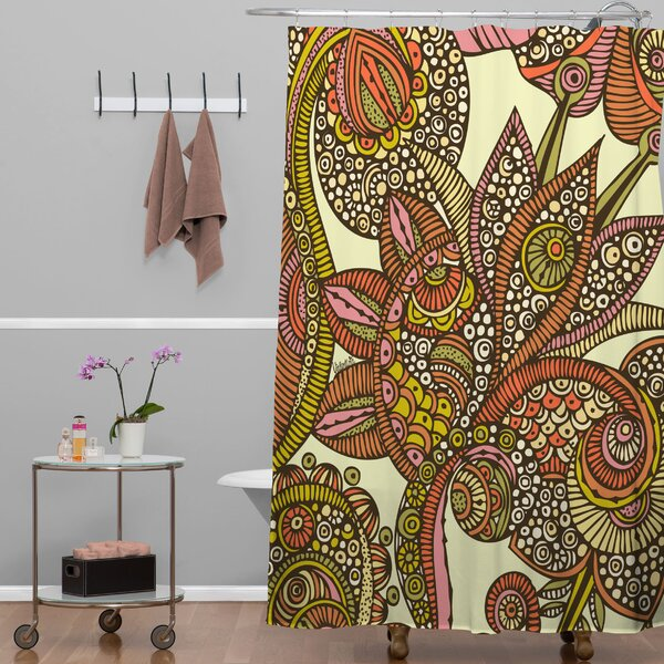 Deepak Dina Shower Curtain by Bungalow Rose