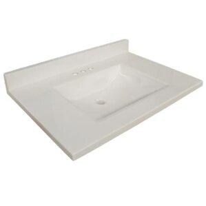 31  Single Bathroom Vanity TopVanity Tops You ll Love   Wayfair. Vanity Tops With Sink. Home Design Ideas