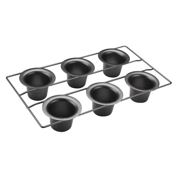 6-Cup Non-Stick Popover Pan (Set of 6) by Cuisinart