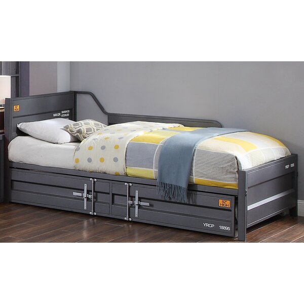 Otero Twin Bed with Trundle by Zoomie Kids